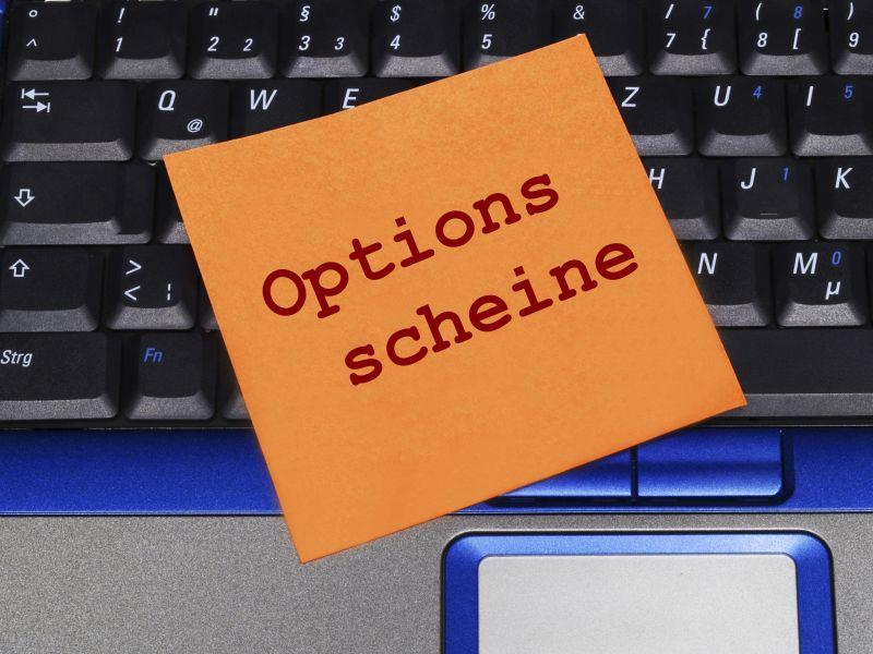 Optionsscheine Termingeschäfte